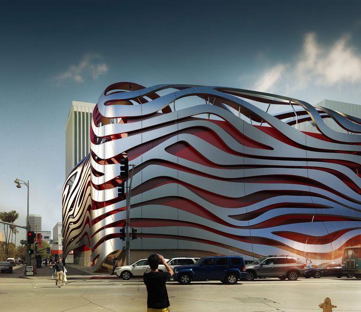 Superb Petersen Automotive Museum Unveils Eye Catching New Exterior By Kohn  Pedersen Fox