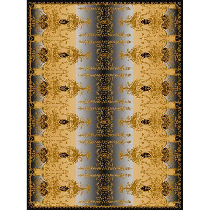 Ковер золотисто-черных цветов 'Отражение Империи' Livadia #carpet #rug #interior #designer #ковер #дизайн