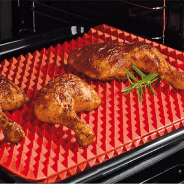 Non Stick Microwave Oven Mat Cooking Kitchen Cooking Mat Healthy Baking