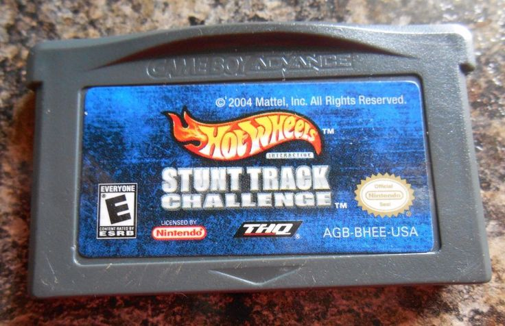 Hot Wheels: Stunt Track Challenge (Nintendo Game Boy Advance, 2004) Cartridge #Nintendo