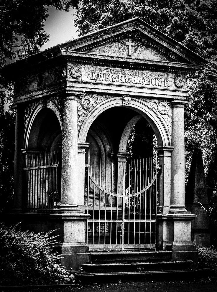 Auf einem alten Friedhof in Rheine