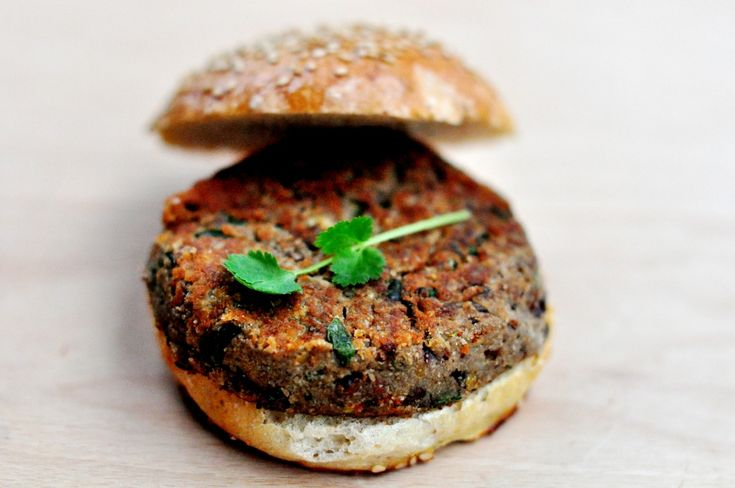 celery root-lentil-hamburger:)