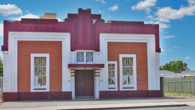 Marion Council Art Deco  Adelaide Advertiser