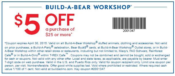 Build A Bear Promo Code June