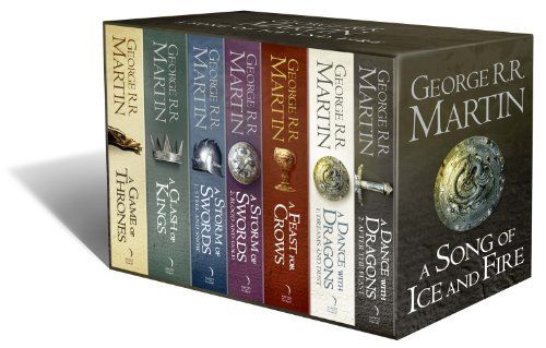 A Song of Ice and Fire, 7 Volumes by George R. R. Martin. Yes Please!!