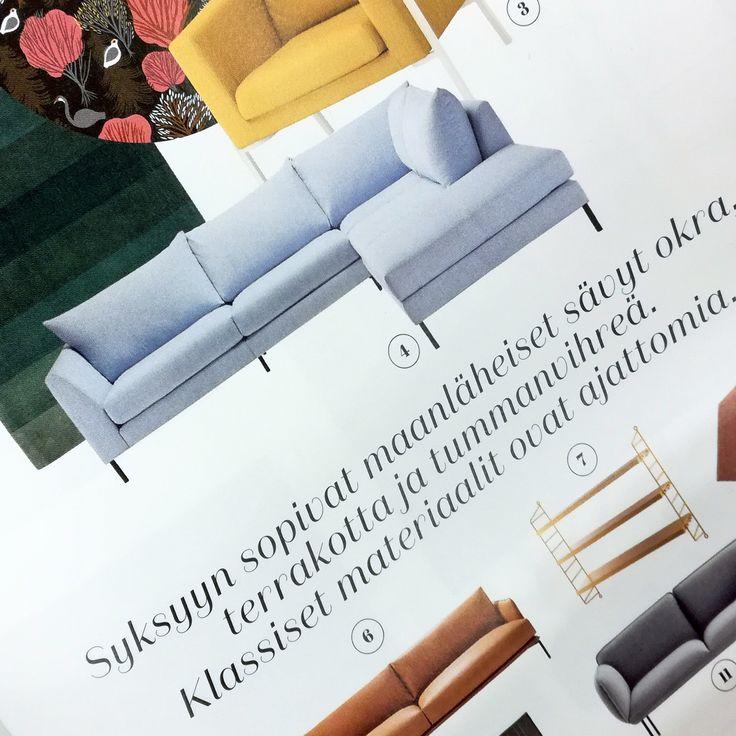 Yksi Pohjanmaan syksyn uutuuksista, Loft-sohva, komeilee uusimman Glorian Kodin olohuone-koosteessa. Käy lukemassa ja ihastu – tai vielä parempi: suuntaa lähimpään Iskuun testaamaan sohva livenä ja ihastu! 😍 Loft-maistiaisia tarjolla myös Habitaressa huomisesta lähtien Iskun osastolla 7h128. 😊   #pohjanmaan #pohjanmaankaluste  #koti #sohva #olohuone #livingroominspo #livingroomdecor