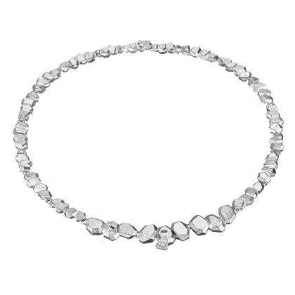 Lapponia Jewelry / Frozen Amethyst Necklace / Design: Liesbeth Busman