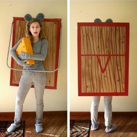 Kostüme als gefangene Maus