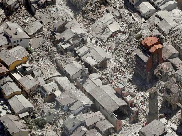 Earthquake rattles Italy and Myanmar