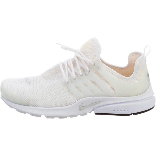Pre-owned Nike Air Presto Sneakers (435 BRL) ❤ liked on Polyvore featuring shoes, sneakers, neutrals, low top, lace up sneakers, round toe shoes, laced up shoes and nike trainers