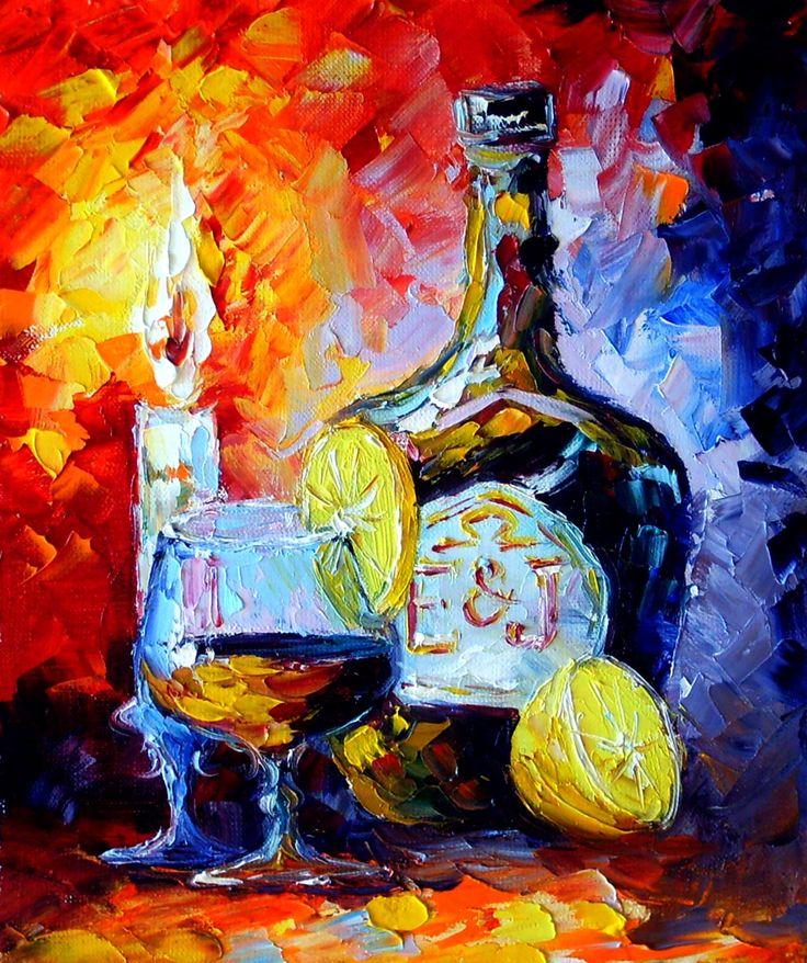 Натюрморт, масляная живопись #Натюрморт, #импрессионизм, #мастихин, #живопись, #картина