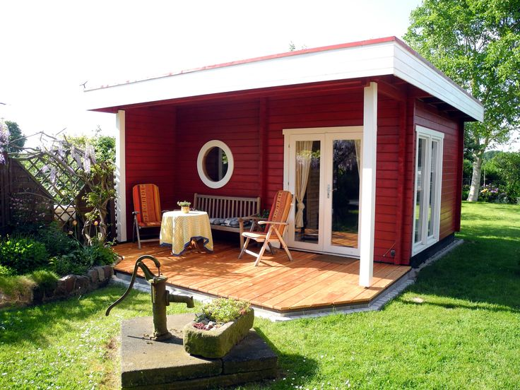 GartenhausIdylle in modernem Stil Dieses schicke