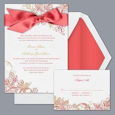 Guava wedding invitation idea
