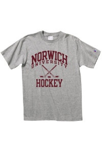 Norwich university hockey t shirt norwich merchandise for Alma mater t shirts