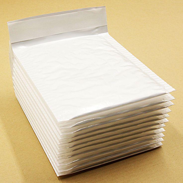 10 PCS 110*130mm Blanc Perle Film Bulle Enveloppe Emballage de Diffusion Sacs Anti-choc Anti-statique Anti-pression