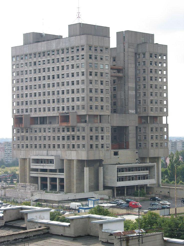 House of Soviets, Kaliningrad, Russia - built 1960.