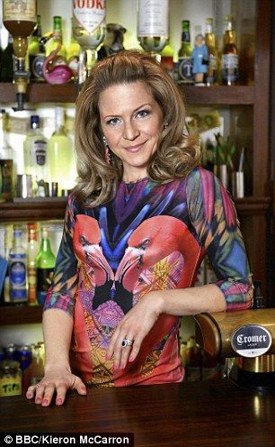Kellie, who plays Danny Dyer's wife Linda Carter in the BBC1 soap, has had to juggle her g...