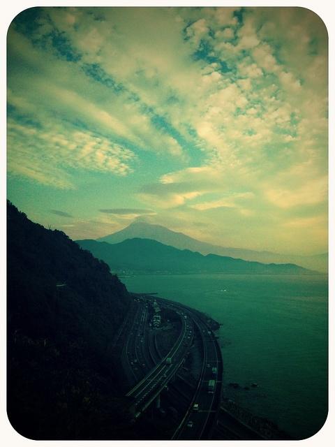 薩埵峠  Mt.fuji view from Satta Pass, Shizuoka Pref.