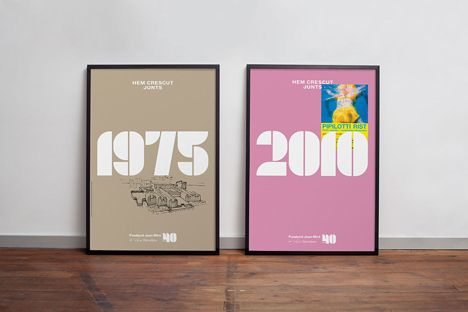 Joan Miró 40th anniversary posters designed by Mucho