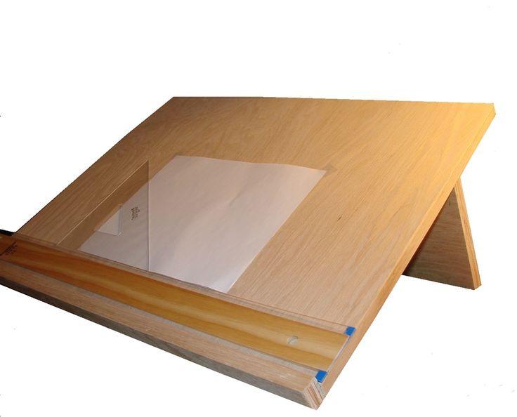 Diy Drafting Table Plans Diy Easel Table Plans