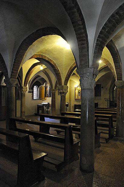 "Santo Stefano crypt - ""Santo Stefano, the Seven Churches of Bologna"" by @Kathryn Whiteside Burrington"