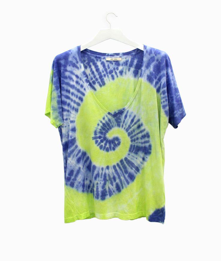 Lebor Gabala tie-dye t-shirt #arropame #conceptstore #bilbao #ss2016 #LeborGabala #fashion #shopping #trendy #style http://arropame.com/lebor-gabala-primera-capsula-ss16/