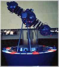 IMAGEN: Proyector de estrellas óptico.