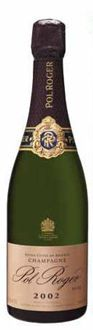Champagne Pol Roger Rose Vintage 2002 is salmon pink in color and offers lush red fruit flavors