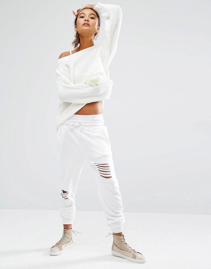 Изображение 1 из Тренировочные брюки с потертостями Daisy Street