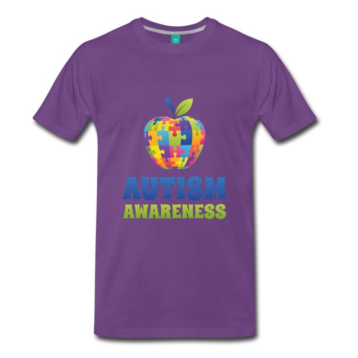 Autism Awareness Puzzle Men's T-Shirt Top Quality T Shirts Men O Neck New Fashion For Men Short Sleeve Hot 2017 Fashion