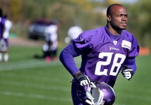 The 2-year-old son of Minnesota Vikings star running back Adrian Peterson died Friday of injuries suffered when he was beaten two days earlier, allegedly by his mother's boyfriend.