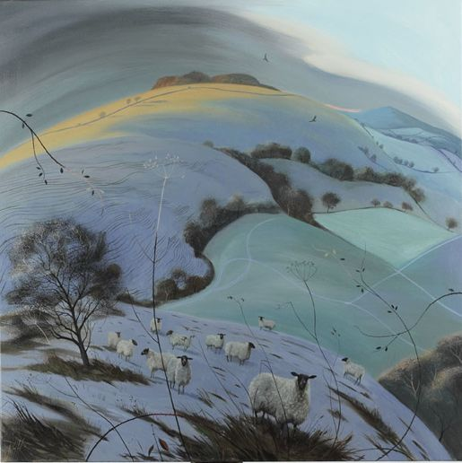 Cold Morning Near Compton Abbas - Nicholas Hely Hutchinson.