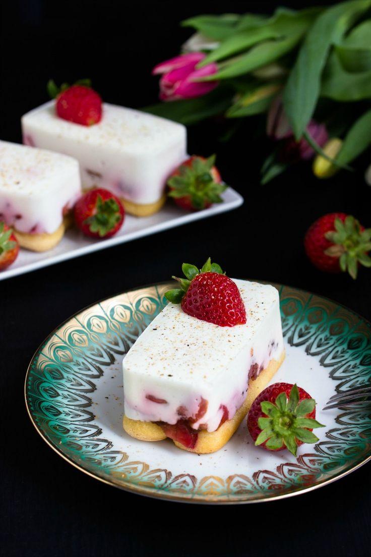 Tiramisu mit Balsamico-Erdbeeren, Skyr und Licor43 - Sasibella