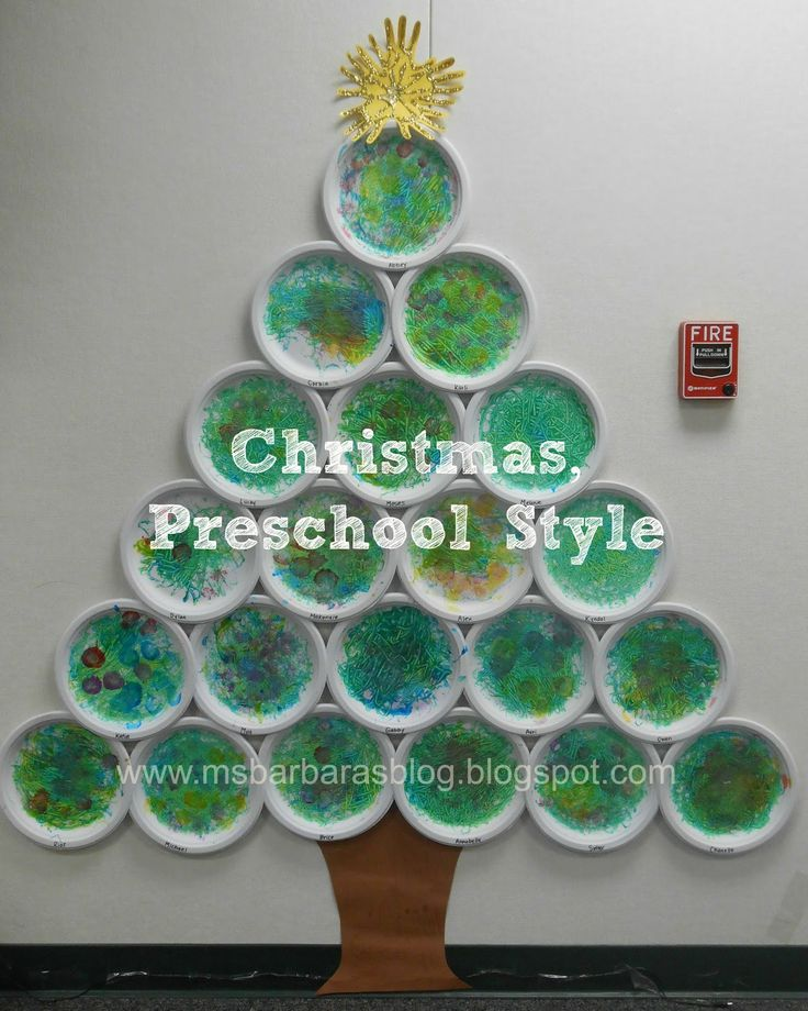 42 best images about tree crafts on pinterest christmas for Art and craft for classroom decoration