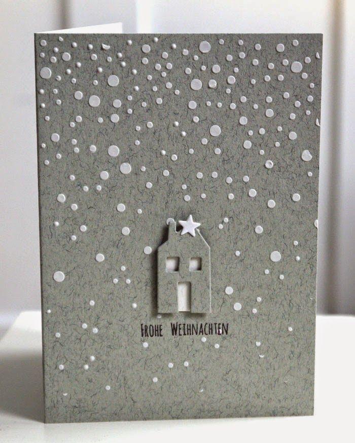 34 besten weihnachtskarten ideen bilder auf pinterest. Black Bedroom Furniture Sets. Home Design Ideas