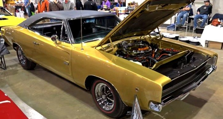 Restored by Paul Jacobs and Concourse Gold winner at the 2013 Muscle Car & Corvette Nationals this 1968 Dodge HEMI Charger is a must see. Check out the video!