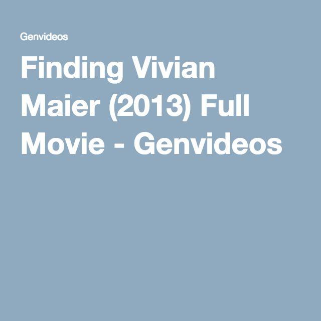 Finding Vivian Maier (2013) Full Movie - Genvideos