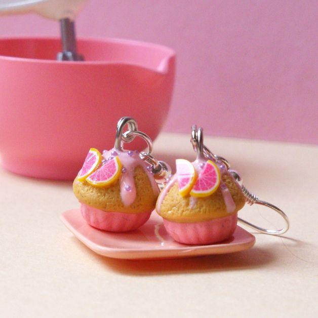 "BO ""Grapefruit Cupcakes"" au 1:12 en Fimo"