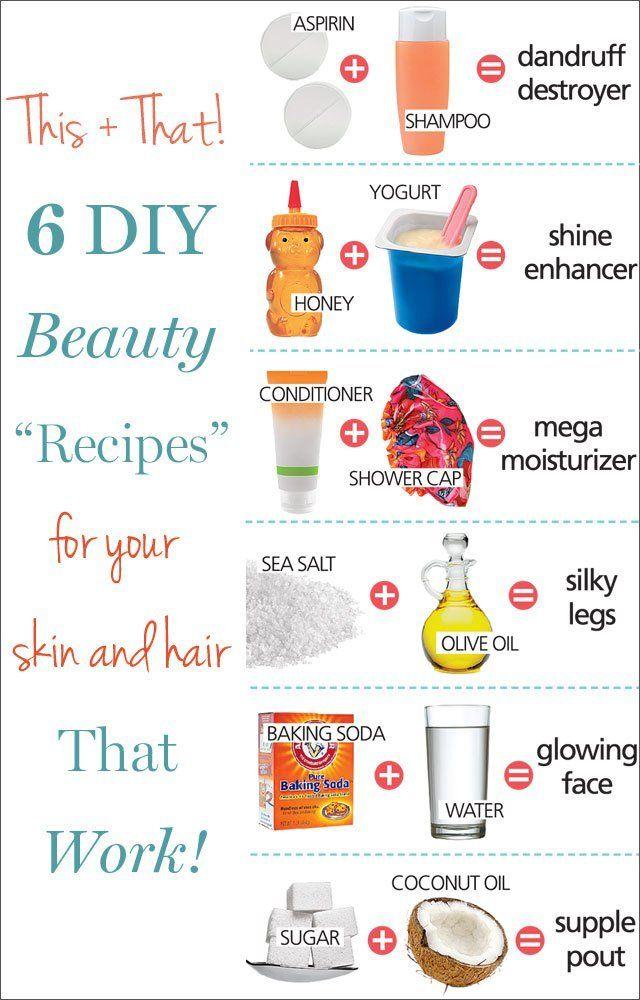 6 Genius DIY Beauty Solutions | DIY  Crafts