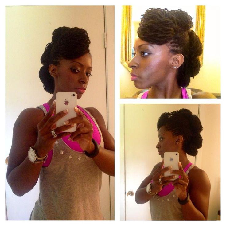 Stupendous 1000 Images About Sisterlocks On Pinterest Black Women Natural Short Hairstyles Gunalazisus