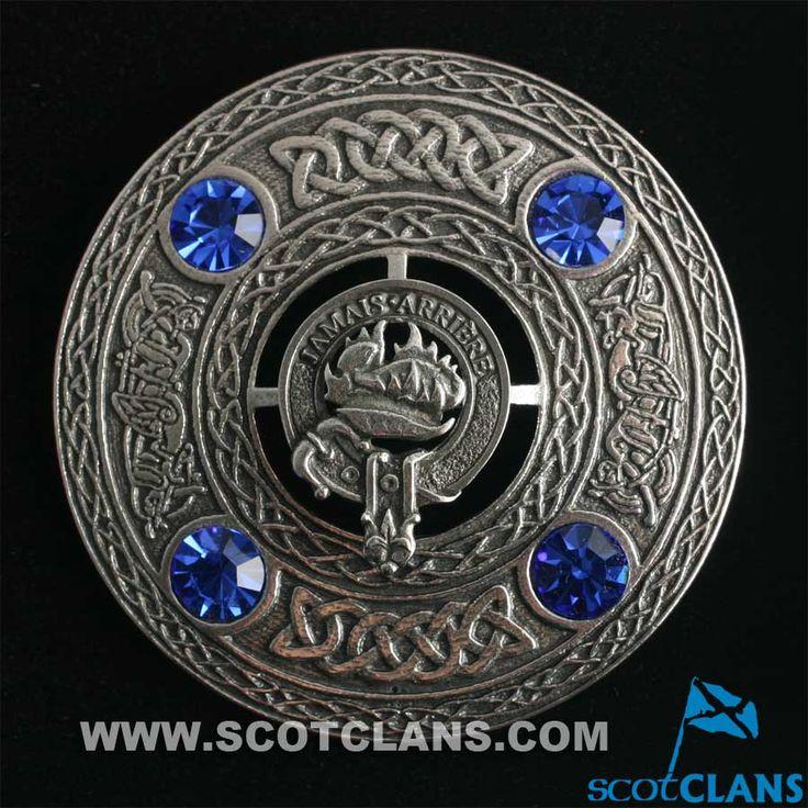 Douglas Clan Crest Plaid Brooch http://www.scotclans.com/scottish_clans/clan_douglas/shop/kilt_accessories/GTL-063.html