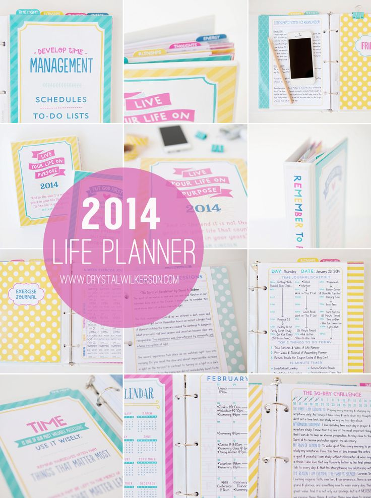 Getting organized | 2014 Life Planner by Crystal Wilkerson
