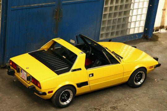 Fiat X 1/9, Bertone design
