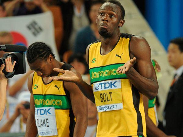 Yohan Blake vs Usain Bolt