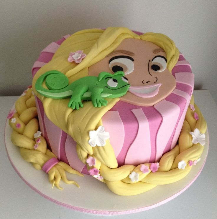 Rapunzel Cake Decorating Kit : 434 best images about Disney s Tangled Cakes on Pinterest ...