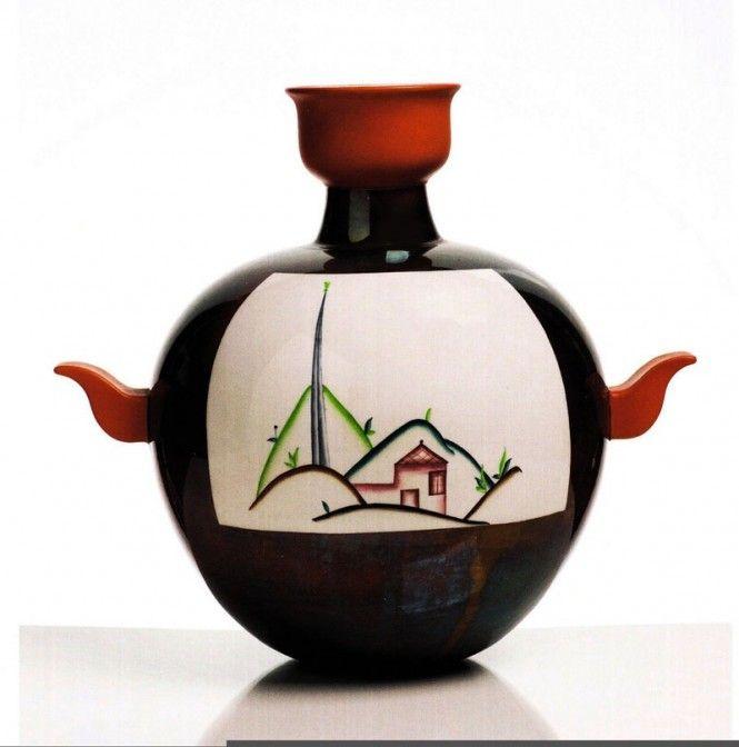 Guido Andlovitz, Vase for Società Ceramica Italiana, Laveno, 1930