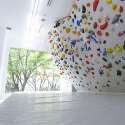 climbing wall?
