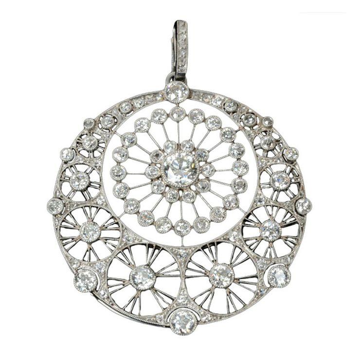 Herringbone Platinum: 17 Best Images About Belle Epoque (Edwardian) Jewelry On