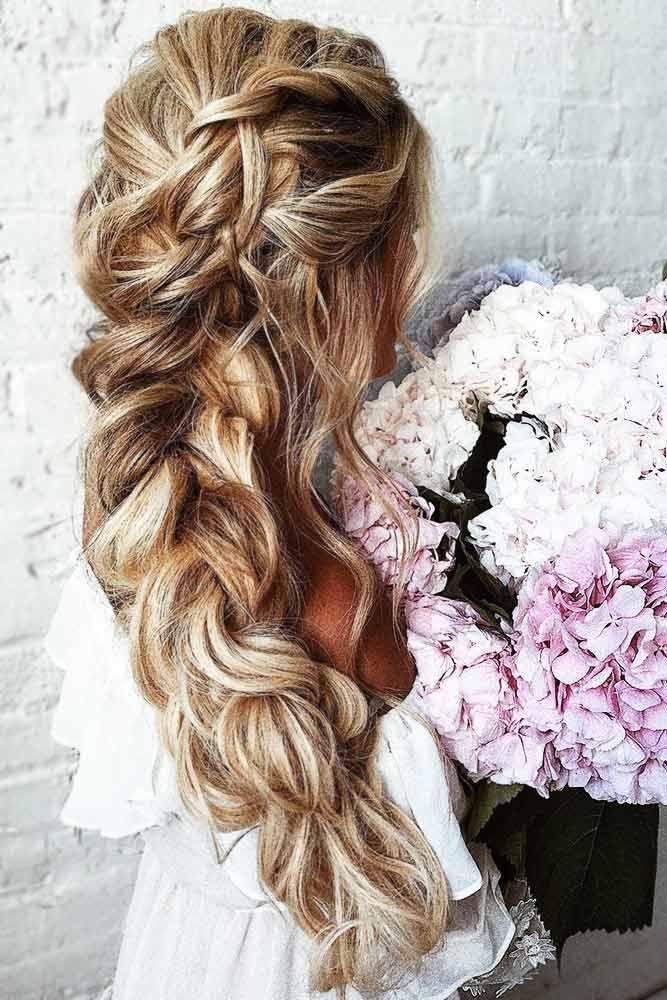 30 unwiderstehlich gewebte Hochzeit Haar sieht aus – zum Glück immer …   – Hochzeitsfrisuren