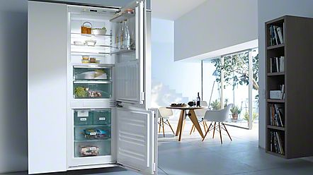 fridge freezers with stainless steel handles - Google Search